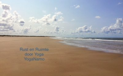 Yoga lessen beginnen weer op 17 september