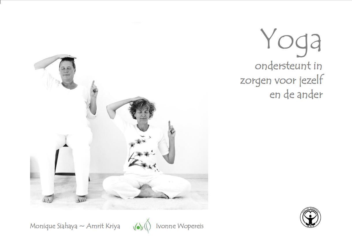 Boek yoga ondersteunt in zorgen voor jezelf en de ander