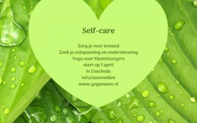 Yoga voor Manterzorgers start op 1 april van 13.15 – 15.45 uur